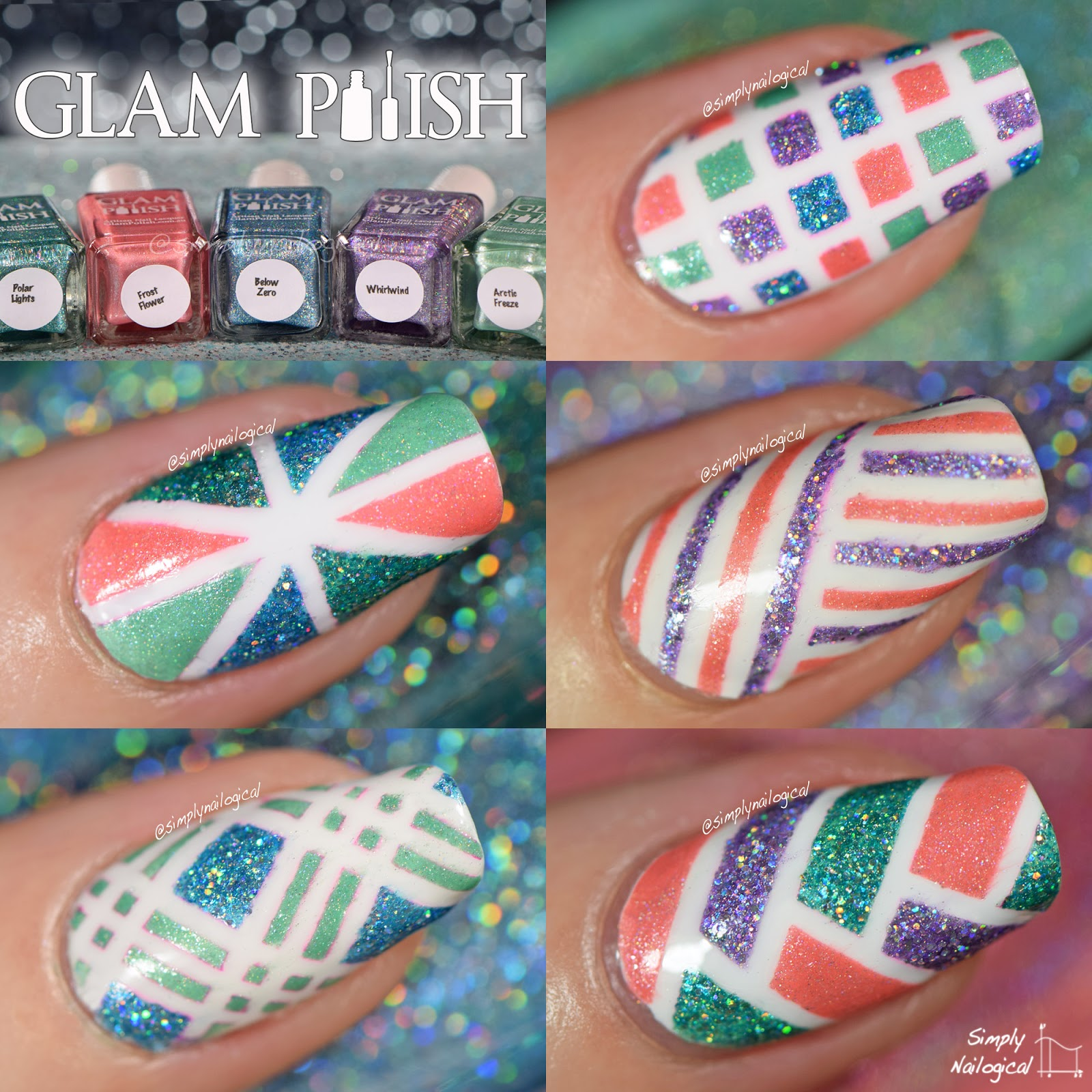 Glam Polish Mid-winter's dream 2014 collection