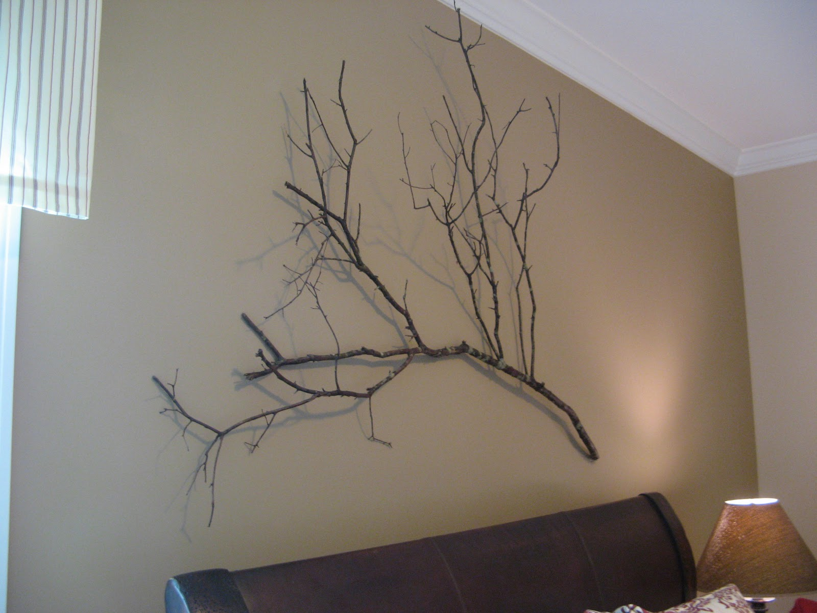 Tree branch wall art tree branch with birds and for Tree wall art