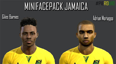 PES 2013 Mini Facepack Jamaica by PieroU10