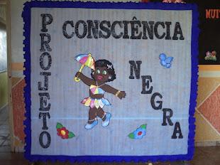 Painel: projeto Consciência Negra