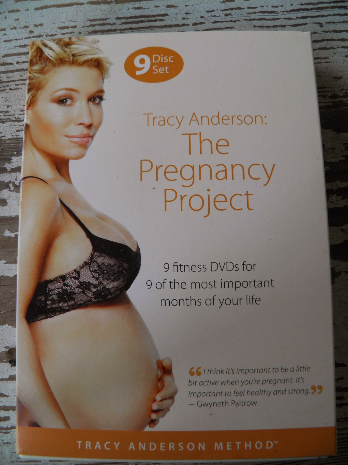 Tracy Anderson Prenatal Workout Video