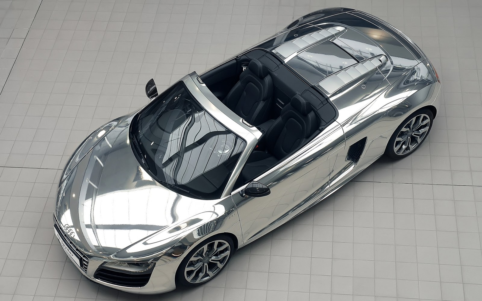 Audi Chromed Car