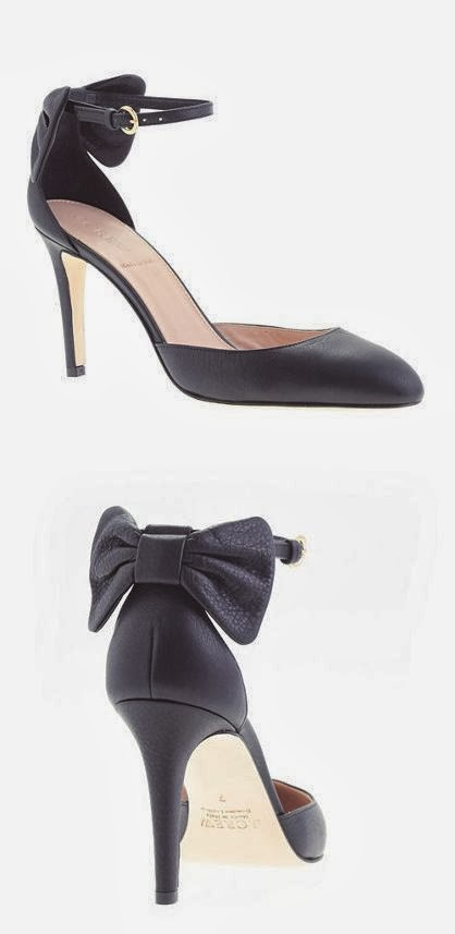 Amazing bow heels