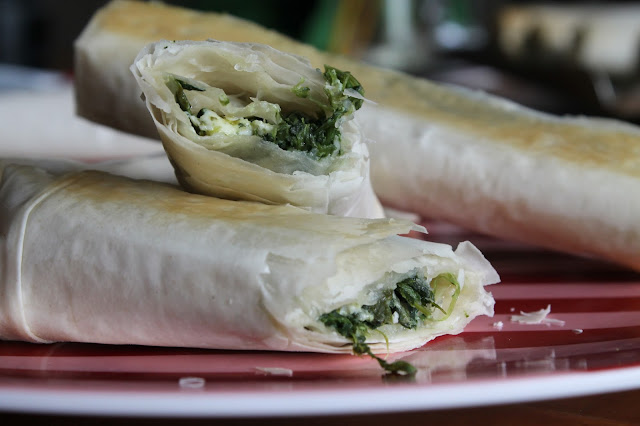 quick and easy spanakopita