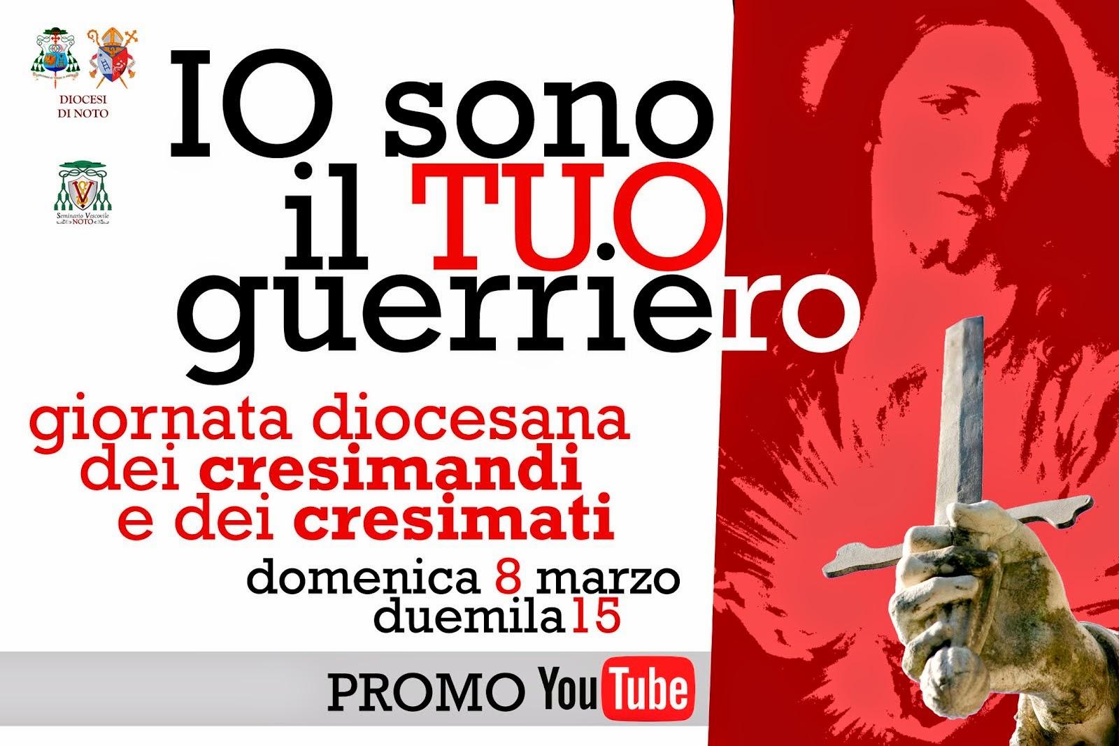 Promo Giornata Diocesana dei Cresimandi e dei Cresimati 2015