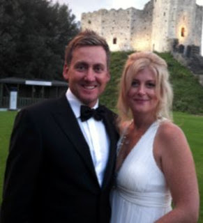 Ian Poulter With His Beautiful Wife Katie Poulter In These Pictures.