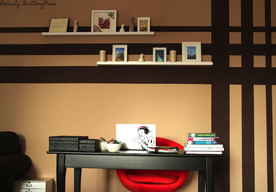 Ikea Malm Bett Frühstückstisch ~ Roomtour] Wohnzimmer  Schreibtisch Arbeitsbereich und Sofa