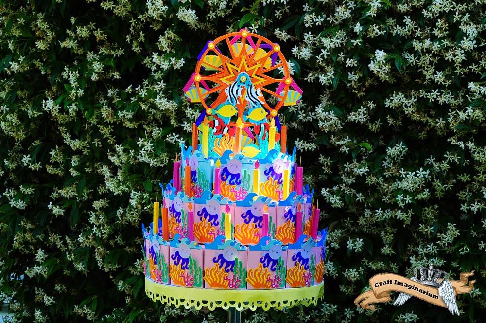 Craft Imaginarium Birthday Cake Box