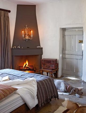 Aranzacja sypialni w wiejskim stylu