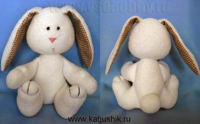 Сшить игрушку своими руками заяц