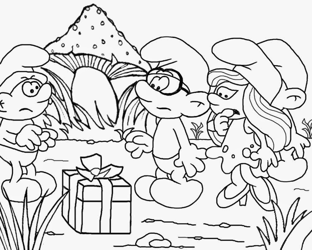 Mushroom house smurf party simple ideas fun coloring pages for teenagers printable free art pictures