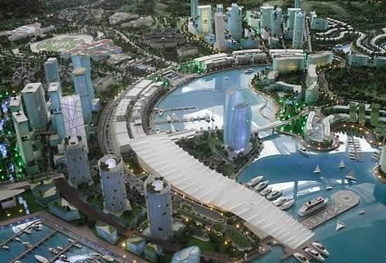 Metrópole inteligente na Ásia custará menos que Copa do Mundo de 2014