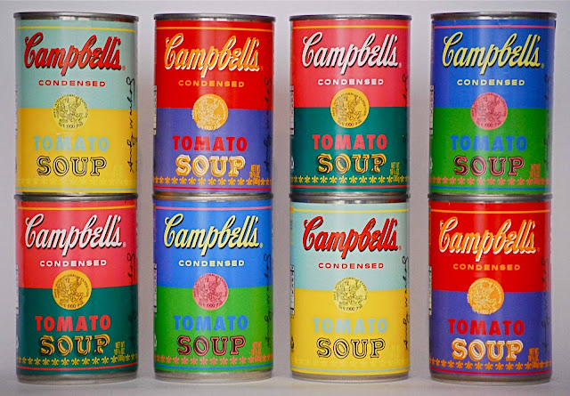 an analysis of the campbell soup can painting by andy warhol Why is andy warhol's campbell's soup famous as the name suggests, andy warhol's campbell's soup is not a soup variety, but an art piece it is a collection of 32 different 20x16 inches canvases, each of which is a painting of a can of campbells.