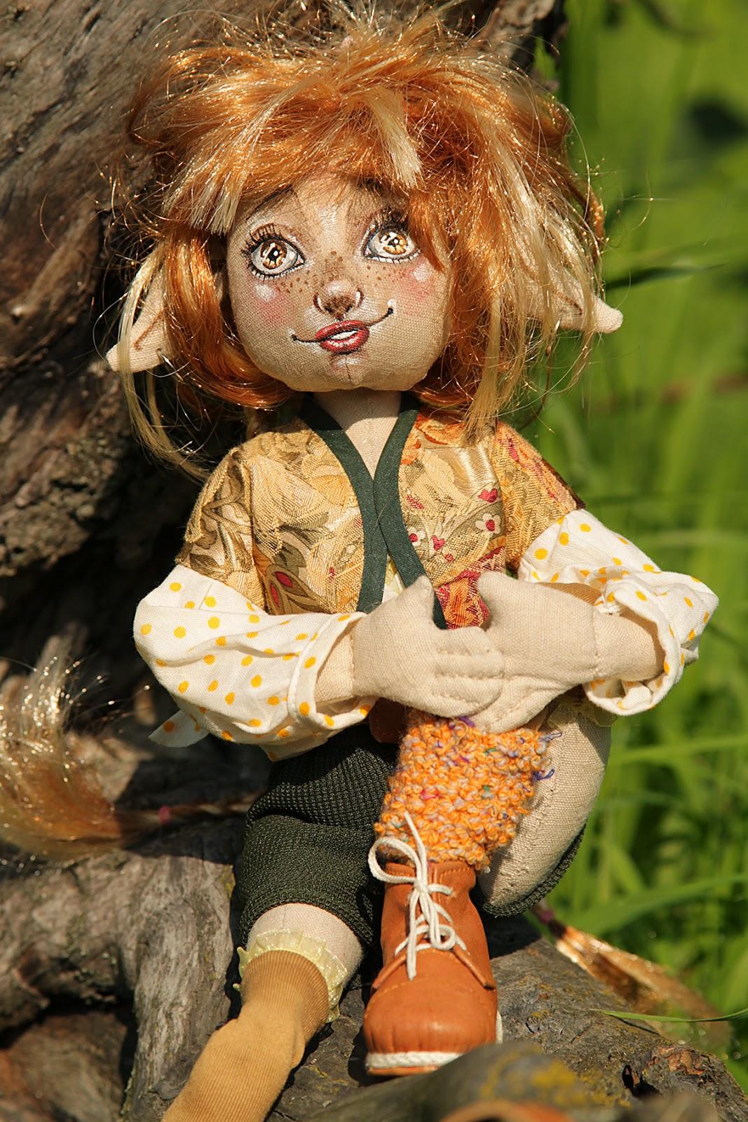 Кукла эльф своими руками 27