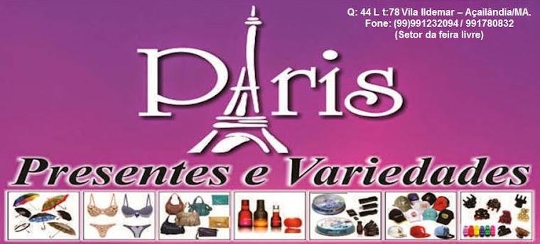 PARIS PRESENTES E VARIEDADES