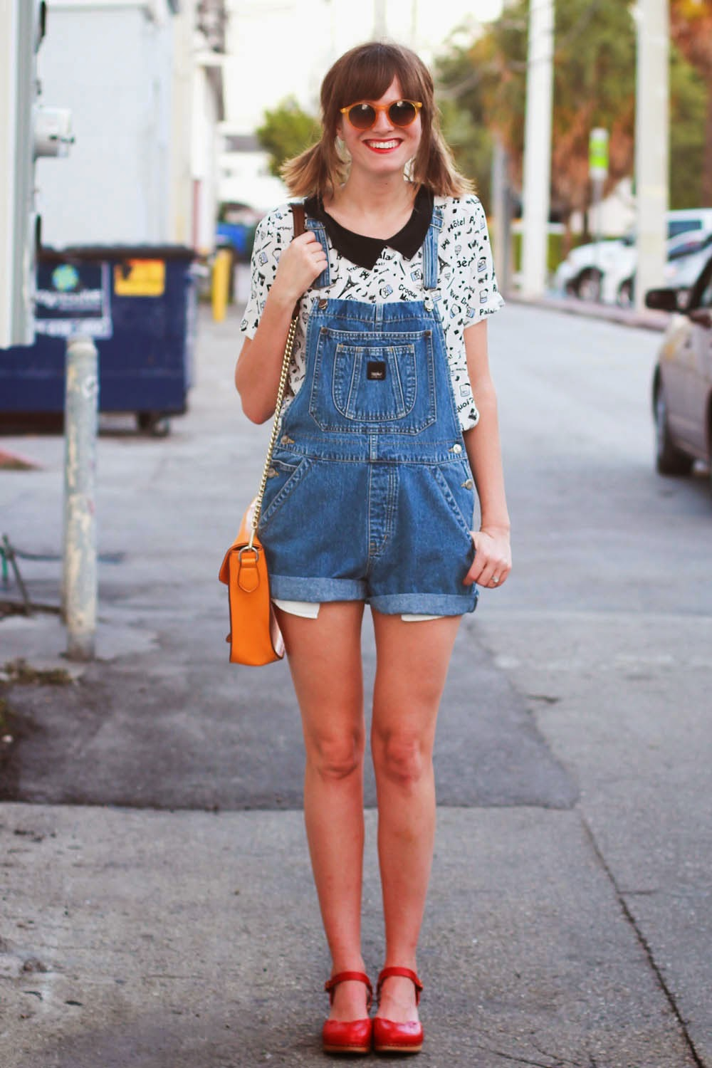steffy kuncman miami fashion blog overalls