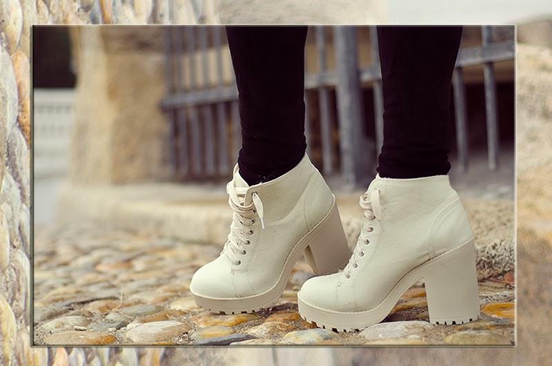 platform ankle boots beeswonderland