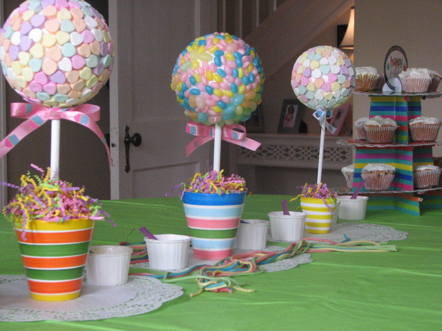 The simple craft diaries candy shop birthday party part i decor