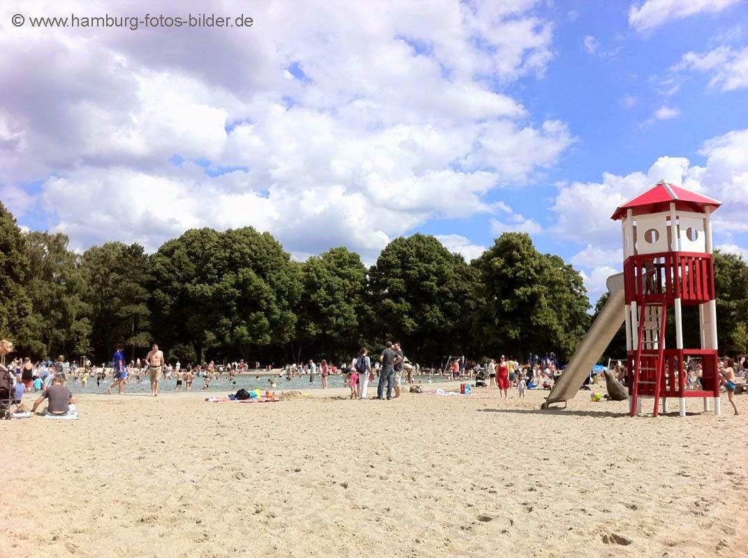 Stadtpark Spielplatz mit Planschbecken