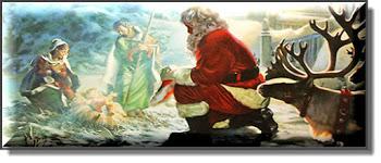 Praying Santa