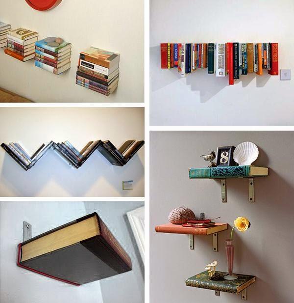 C mo decorar con libros - Libros antiguos para decoracion ...