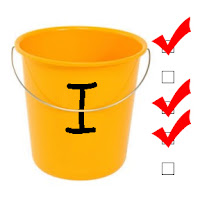 Bucket List.....get it?