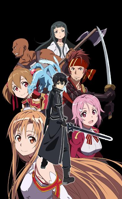Sword Art Online Episode 1-25(END+Special)[subtitle indonesia]