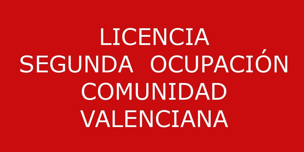 Licencia segunda ocupaci n en d nia dg arquitecto valencia - Licencia de habitabilidad ...