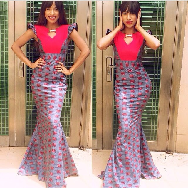 Ankara Long Gown Style - DeZango Fashion Zone