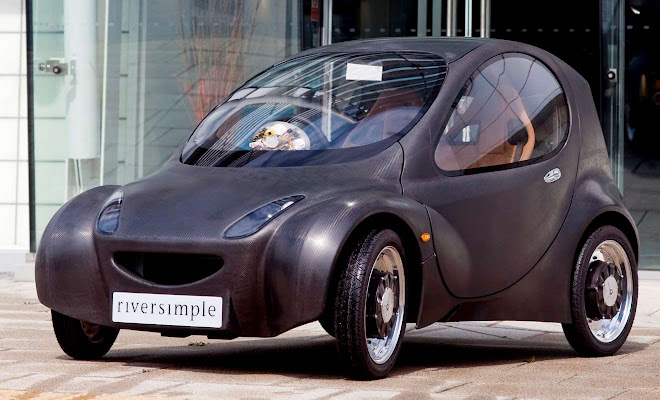 Riversimple hydrogen car early prototype