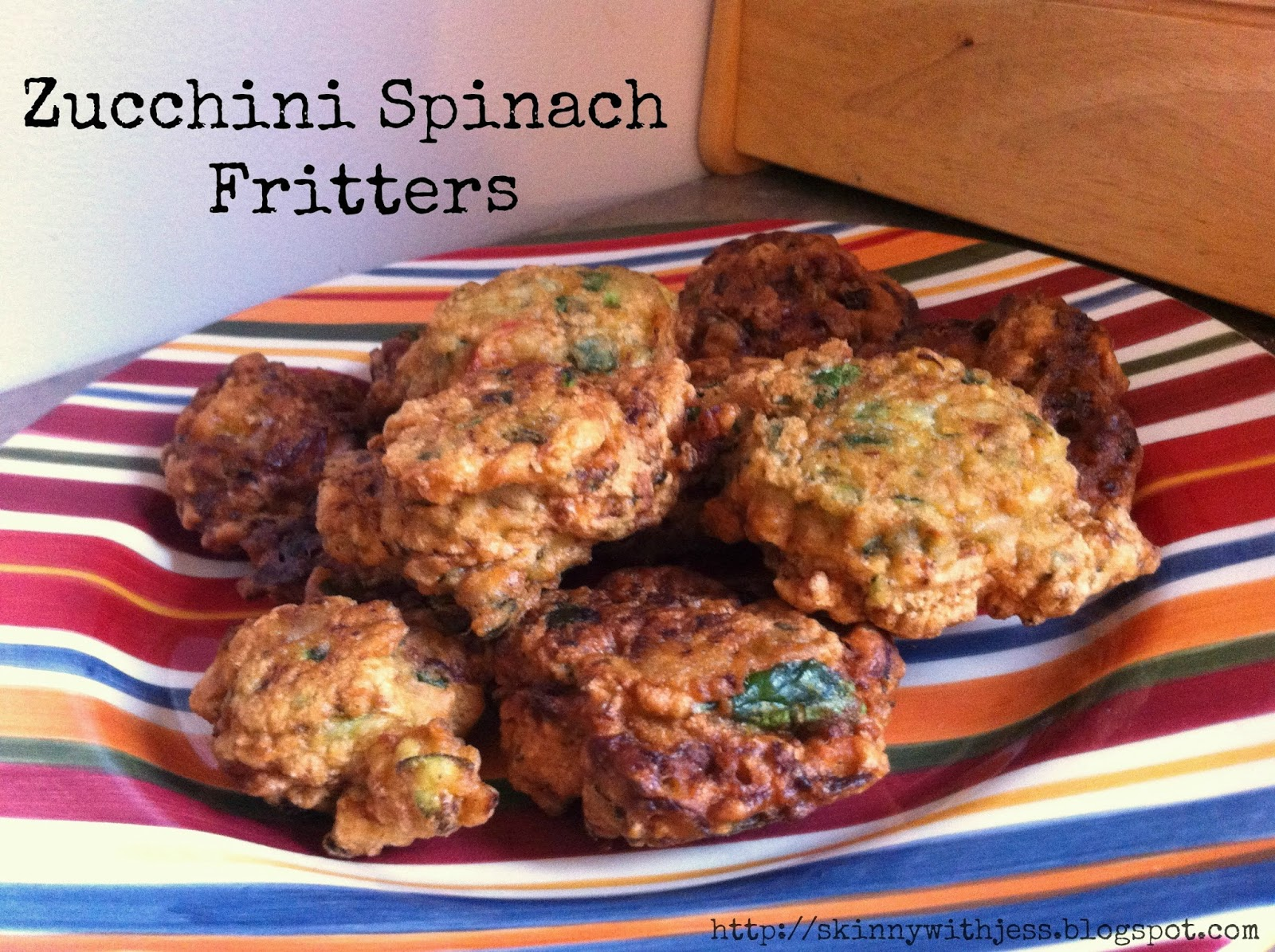 This is how we Mommy: Zucchini Spinach Fritters