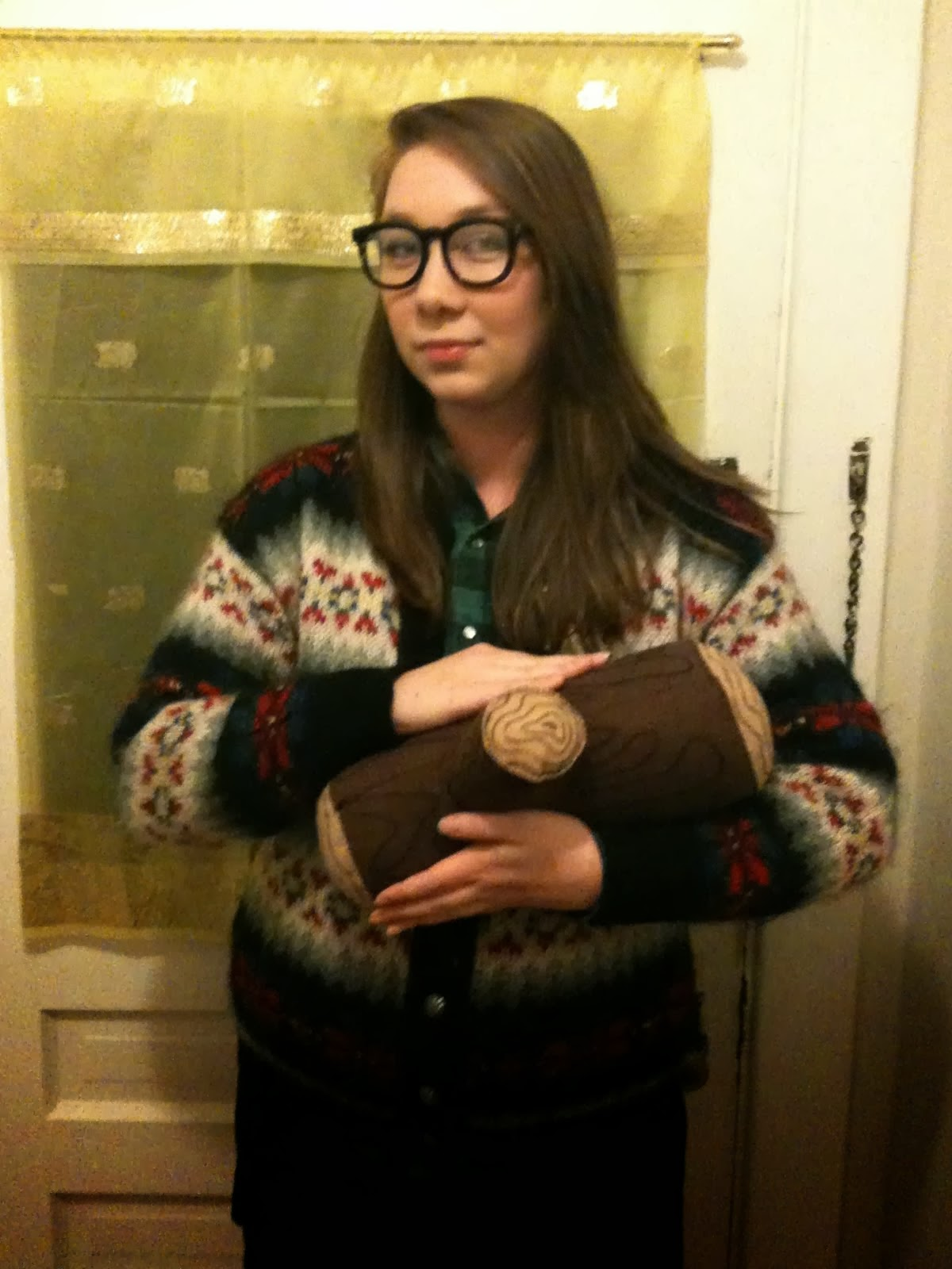 Girl Without as Log Lady