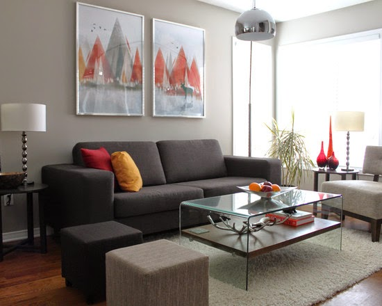Model Sofa Minimalis Untuk Ruang Tamu Mungil
