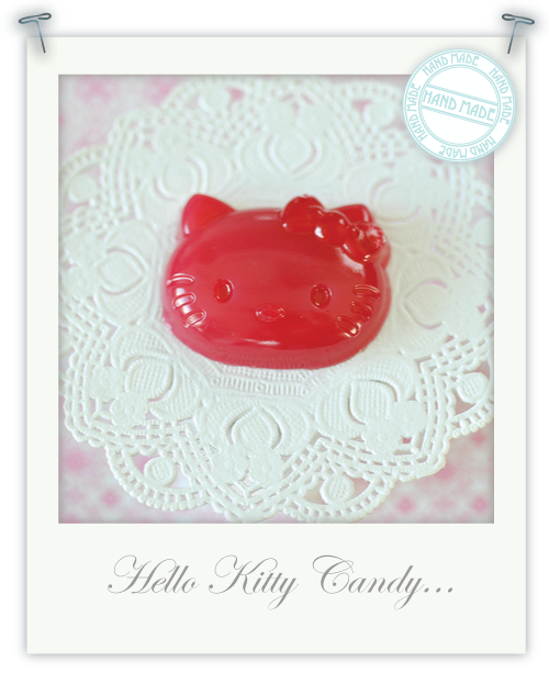 Hello Kitty raspberry jelly candies