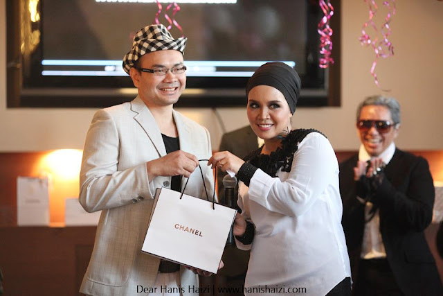Coco Chanel Dear Hanis Haizi Party by Adibah Karimah with winner best dress