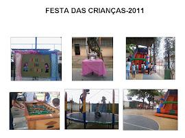 FESTA DAS CRIANÇAS-2011