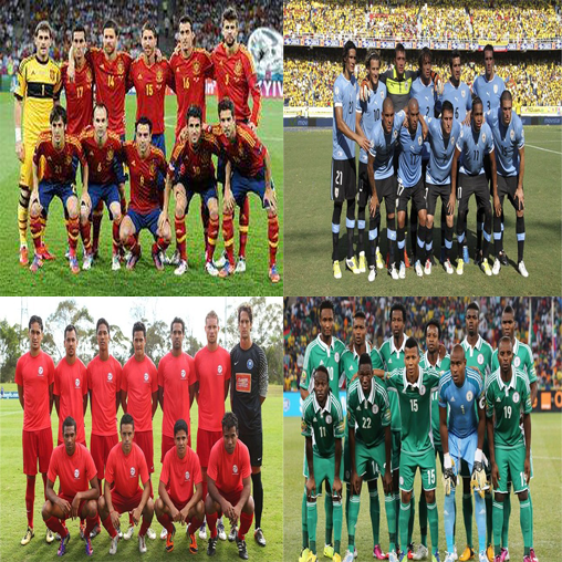 Tittle/ALT Group B Confederation Cup 2013 ( by. Nciek )