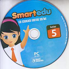 toko buku rahma: buku CD PEMBELAJARAN SMART EDU untuk kelas 5 sd