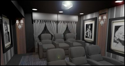 Movie themed bedrooms - home theater design ideas - Hollywood style decor - movie decor -  home cinema decor - movie theater decor