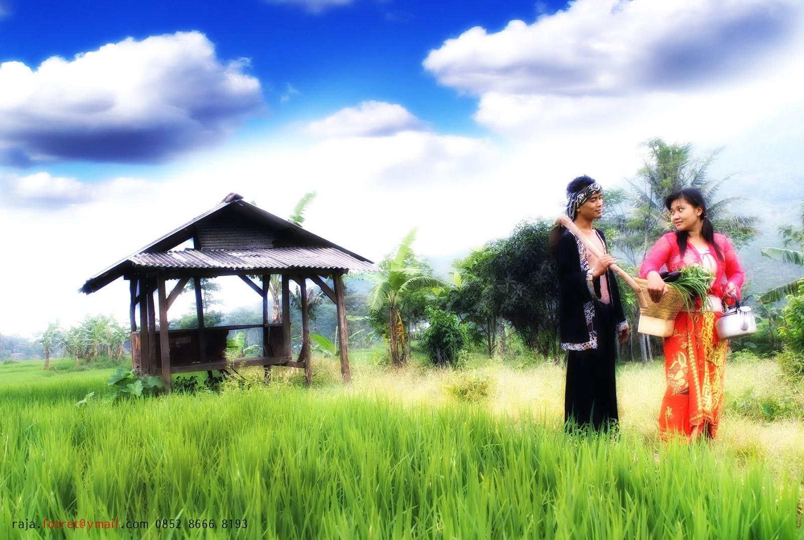 Seni Fotoghrafy: prewedding di sawah
