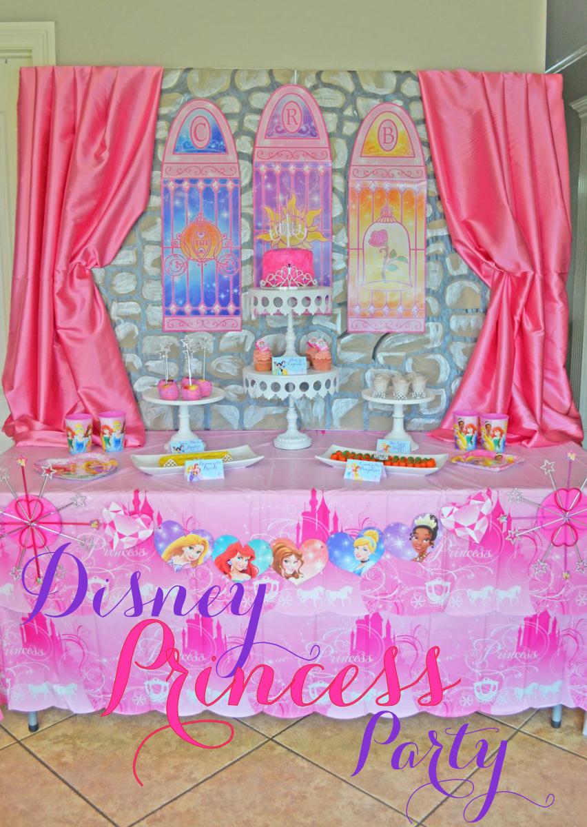Greygrey Designs Disney Princess Party On A Budget With American