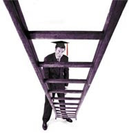 social ladder, ladder