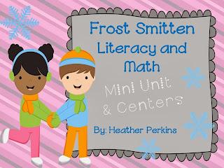 http://www.teacherspayteachers.com/Product/Frost-Smitten-Literacy-and-Math-Mini-Unit-and-Centers-1039894