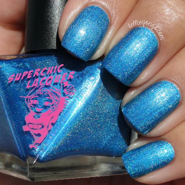 SuperChic Lacquer Short Circuit High Voltage