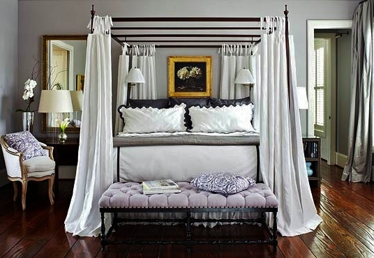 Classic Chic Home: Awe-Inspiring Canopy Beds