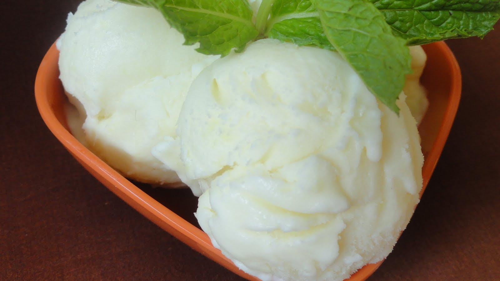 Peek into My Kitchen: Ginger Ice-cream