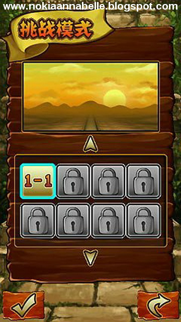 Temple Run 2 for Nokia s60v5, Anna (Symbian^1), and Belle (Symbian^3)