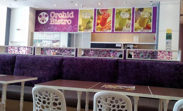 Tempat Makan Feveret Family di Orchid Bistro