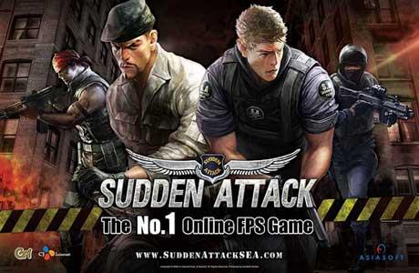تحميل لعبة الاكشن الهجوم المفاجئ Sudden Attack اون لاين