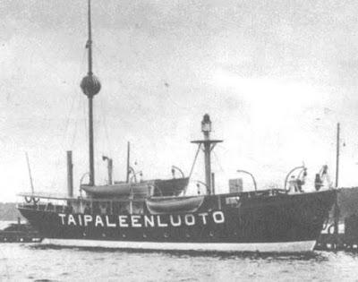 Плавучий маяк Taipaleenluoto